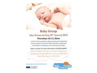 New Baby Group - Northstowe