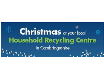 Christmas Household Recycling Times
