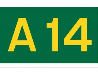 A14 Westbound Jct 30 Dry Drayton to Jct 29 Bar Hill